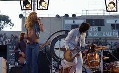 Led zeppelin at Kezar Stadium June 2 1973. Post by. - Zephead