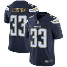Youth Nike Los Angeles Chargers #33 Tre Boston Navy Blue Team Color Vapor Untouchable Limited Player NFL Jersey