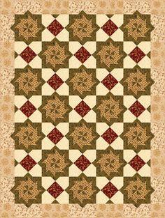 Spinning Tiles Quilt Pattern