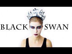 BLACK SWAN HAIR & MAKEUP - SÉRIE CARNAVAL #2017 | Alice Trewinnard - YouTube