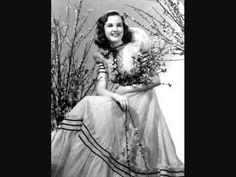 Deanna Durbin - Amapola (Pretty Little Poppy) (1940) - YouTube