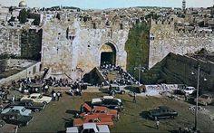 Damascus Gate more than 50 years ago  باب العامود قبل أكثر من 50 عام