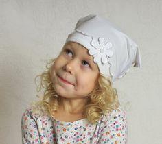Girl headscarf summer bandana headband sun protection by Lupeworks, $19.00