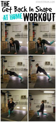 Great workouts you can do right in your own home. I love all these workouts from Stay Fit Mom!
