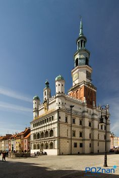 Poznan Poland, The Old Market Square and The Town Hall