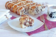 Chocolate Chip Hot Cross Buns | Butter