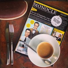 This is how we brew! #espresso time with a good morning read @monocle_magazine #huubistro #houseofhuu #bali #seminyak #barista