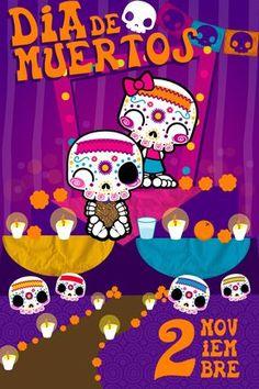 Cartel día de Muertos