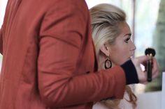 ©WikeZijlstra.nl - Backstage photshoot for Beau Monde InShape with Dutch singer/host Do #gorgeous #sparkle #sequins #photoshoot #magazine #dutch #singer #host #tv #glamour #makeup #MUA #hair #style