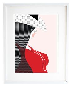 Wall Art, Illustration, Home Decor - By Laura Azevedo, from PinkDialogues