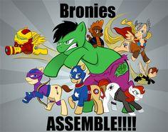 Bronies Assemble!!!