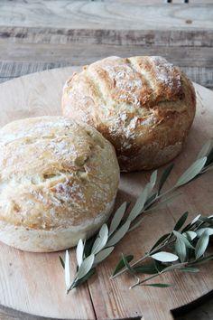 home made no knead bread
