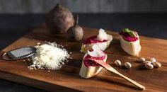 Prøv pesto av rødbeter til godt brød eller pasta. Enkelt og veldig godt!