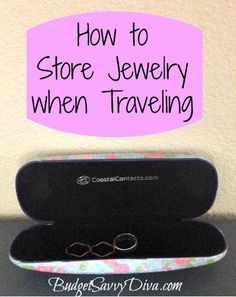 How to Store Jewelry when Traveling