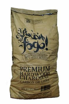 Great Fogo FHWC35LB 35-Pound All Natural Premium Hardwood Lump Charcoal Bag, ,
