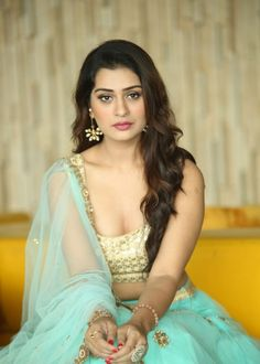 RX 100 fame Payal Rajput photos in designer Ghagra Beautiful Girl Photo, Beautiful Girl Indian, Most Beautiful Indian Actress, Beautiful Actresses, Most Beautiful Women, Beauty Full Girl, Beauty Women, Women's Beauty, Indian Look