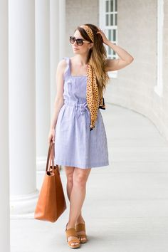 OOTD - Little Blue Dress | La Petite Noob