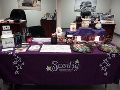 My table at a vendor show, pic 1 of 4. I only had display products, no inventory, since I'm just starting out. This event was a fundraiser for a local business. You can also do Scentsy fundraisers for schools, the kind where kids go around with a catalog taking orders. Contact me if you're interested in a fundraiser of your own, or would like me to join your vendor fair! I'm located in Westchester County, NY.