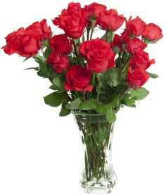 Alluring, vibrant red roses, breathtakingly beautiful. Nothing beats this romantic classic for setting the perfect ambiance.  $45 at http://Inflori.com