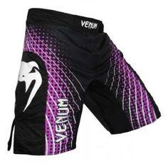 3ffc622bb6 Venum Electron MMA Shorts - Purple and Black Ufc Workout