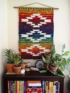The Mountain and Mesa wall hanging crochet pattern was inspired by the rugged beauty of southwestern Colorado.