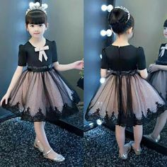 Teenage Girls Clothing Sets Tutu Skirt Set 2 pcs 2017 Spring Fall New Kids Clothes Sets for Children Long Sleeve T-shirt & Skirt Baby Girl Party Dresses, Little Girl Dresses, Baby Dress, Flower Girl Dresses, Toddler Girl Dresses, Frocks For Girls, Kids Frocks, Girls Frock Design, Baby Girl Dress Patterns