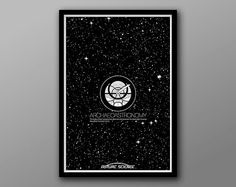 Archeoastronomy: Future Science Icon Series Print by TheGeekerie, $20.00 #geekart #illustration #technology #archeology #astronomy #space