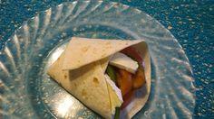 RECIPAY.COM - Wrap aiguillette de poulet pané et brie cœur de lion