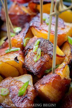 Bacon Wrapped Potato
