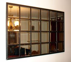 Family | Love | Home: Knock Off Pottery Barn Eagan Mirror ... I want this in my dining room!!