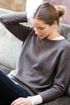 Raglan Crewneck Sweater by Emerson Fry