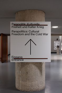 Parapolitics: Cultural Freedom and the Cold War - Zak Group Environmental Graphics, Environmental Design, Typography Inspiration, Typography Design, Cold War Propaganda, Exhibition Booth Design, Exhibition Stands, Exhibit Design, Visual Management