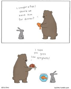 New Wonderfully Witty Animal Comics by Liz Climo