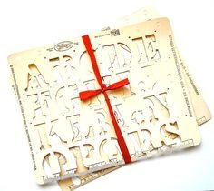 Stenso Roman Letters