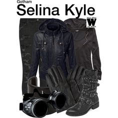 Inspired by Camren Bicondova as Selina Kyle on Gotham.<<< no idea who selina is but totally digging her style