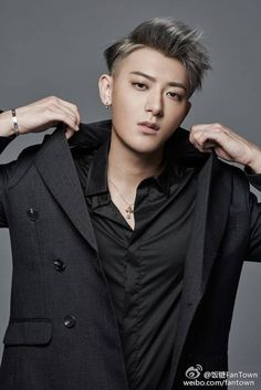 """Exo - Tao """"Hate Tao all you want but know that he suffered and cried and injured himself but kept on staying strong for his fans? I mean surely he only said that we we're a waste of time because his manager or his company forced him to. Really, why would he say that himself? Think before you say something."""""""