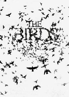 """Alfred Hitchcock's """"The Birds"""" (1963) - Rod Taylor, Tippi Hedren, Jessica Tandy, Suzanne Pleshette, Veronica Cartwright"""