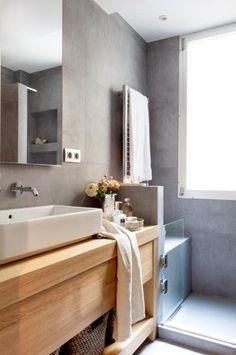 Amazing And Gorgeous Bathroom Decoration Ideas You Must Love; Next Bathroom, Big Bathrooms, Small Bathroom, Shelf Arrangement, Bohemian Bathroom, Bathroom Storage Shelves, Modern Kitchen Design, Beautiful Interiors, Decoration