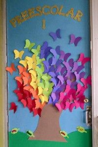 Spring Classroom Door Decorations Preschool 7 Counseling Office