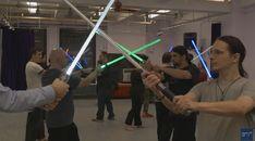 Take your workout to new level and train like a Jedi! Ask Men's report features an exciting way to get into shape and live out [...] READ HERE: Train Like a Jedi: A Look at Lightsaber Combat Classes