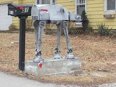 Star Wars mailbox
