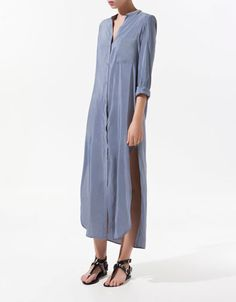 SHIRT-STYLE TUNIC - Dresses - Woman - ZARA United States