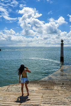 Cais das Colunas - where Lisbon's downtown meets the Tagus River #Portugal Fot. Miguel soriano #Lisbon