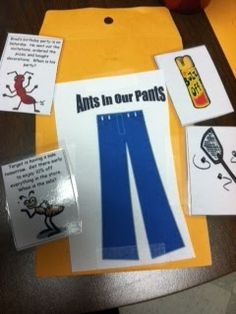 "My students have been ranting and raving about our ""monster pockets"" activity and wants to keep playing it over and over!  Well, that's going to get old fast! I created a similar gave with new graphics and a new skill target, answering wh- questions by recalling details from a short paragraph.  Introducing…ANTS IN OUR PANTS!  …"
