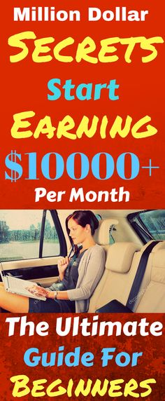 Make money online in 2017. The best ways to earn passive income online from home. Work from home and earn $10000+ per month with genuine methods. Click the pin to see how >>>