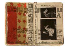 Moleskine 26 by Juan Rayos. Daily Art Journal on my to do list. - Kafi