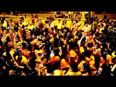 People dancing on DJ music @ ganpati ganesh visarjan 2015