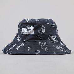 Perks & Mini PAM Wild Type Bucket Hat - Navy