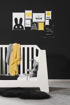 Black, white & yellow by Jollein