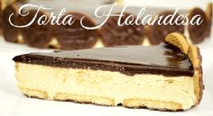 A Receita de Torta Holandesa da Isamara é deliciosa e fácil de fazer. O creme fica levinho e saboroso e a cobertura é bem brilhante e vistosa. Além disso, você pode escolher entre os biscoitos Calypso e Tortinhas de Chocolate para colocar na base e na lateral da torta. Enfim, com a torta holand… Mini Cheesecake, Cheesecake Cupcakes, My Recipes, Tiramisu, Mousse, Fondant, Deserts, Food And Drink, Sweets